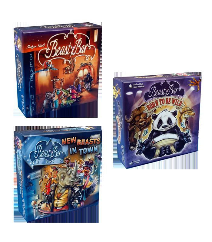 جعبه بازی beasty bar ۱ ۲ ۳