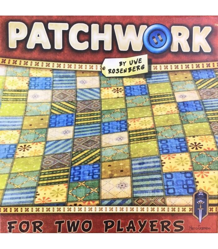 عکس روی جعبه بازی PATCHWORK