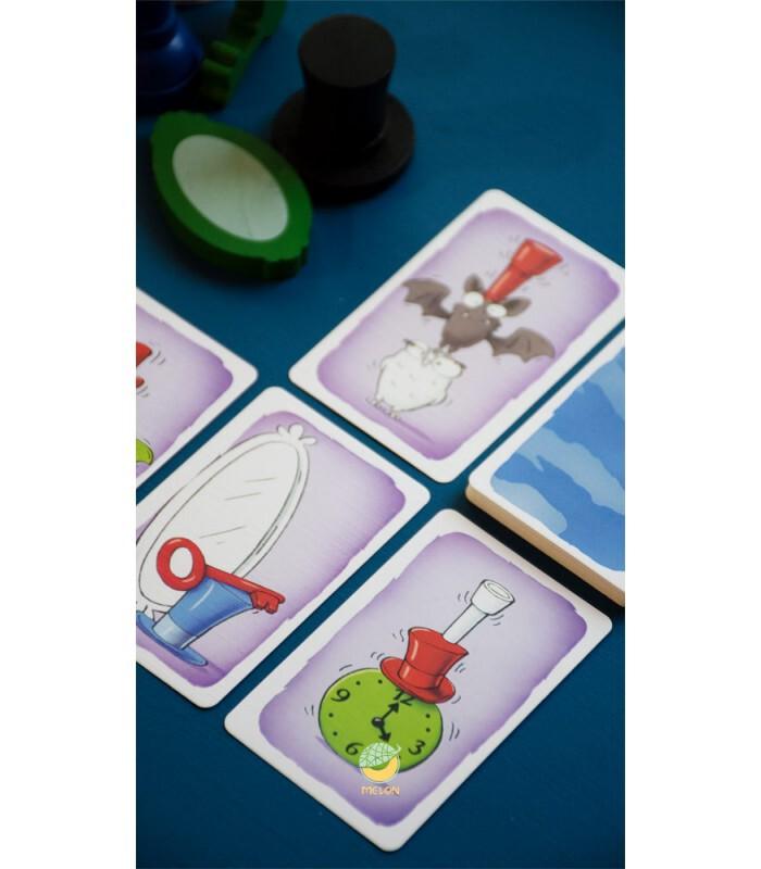 کارت بازی حمله ارواح Geistes Blitz نسخه ایرانی