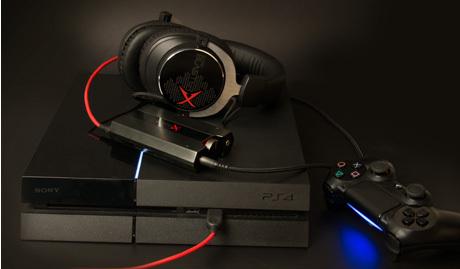 کارت صدا Creative مدل Sound BlasterX G5 همراه هدفون و پلی استیشن 4