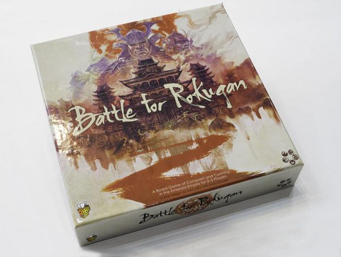 جعبه بازی BATTLE FOR ROKUGAN