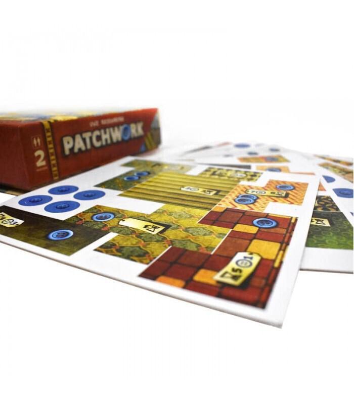 نما نزدیک نقشه بازی PATCHWORK