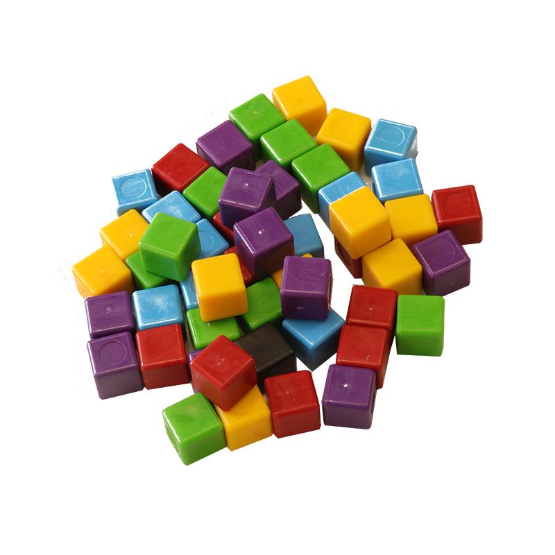 مهرههای مکعبی رنگی بازی ANTI-ENZUME