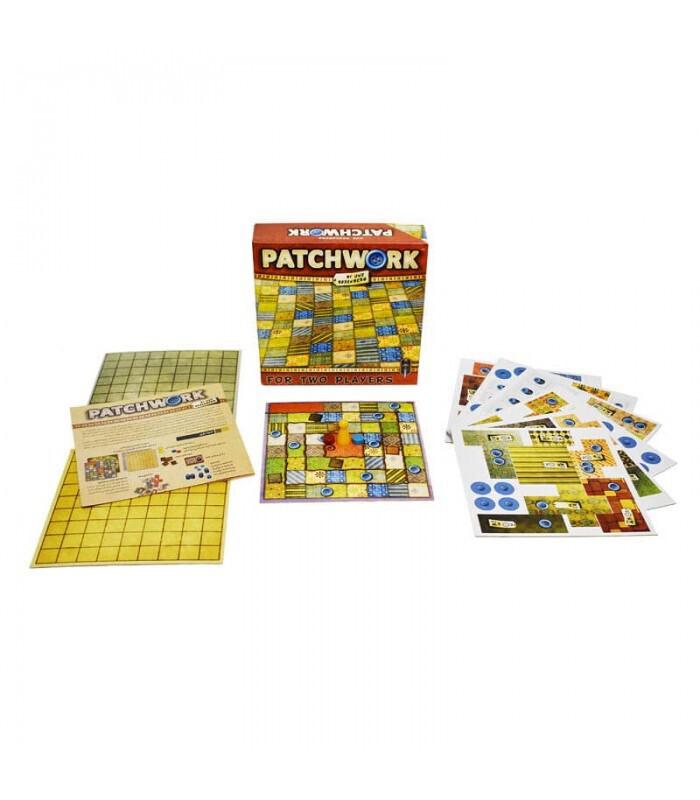 اجزا تشکیل دهنده بازی PATCHWORK