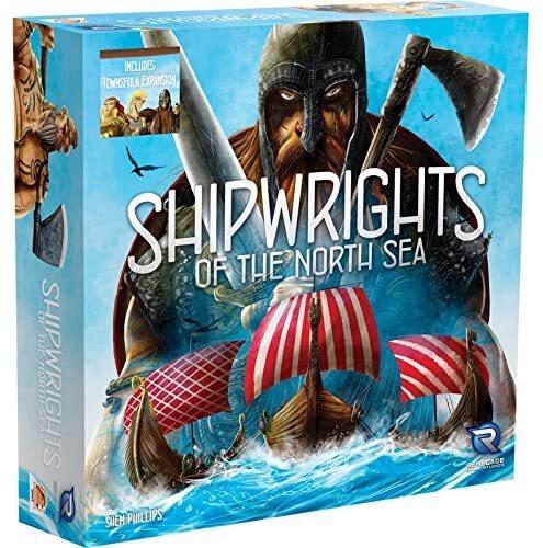 جعبه بازی رومیزی Shipwrights of the North Sea