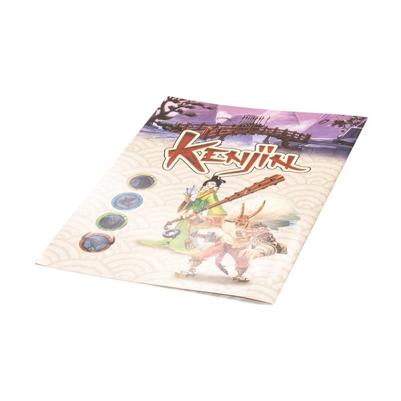 دفترچه راهنمای بازی kenjin