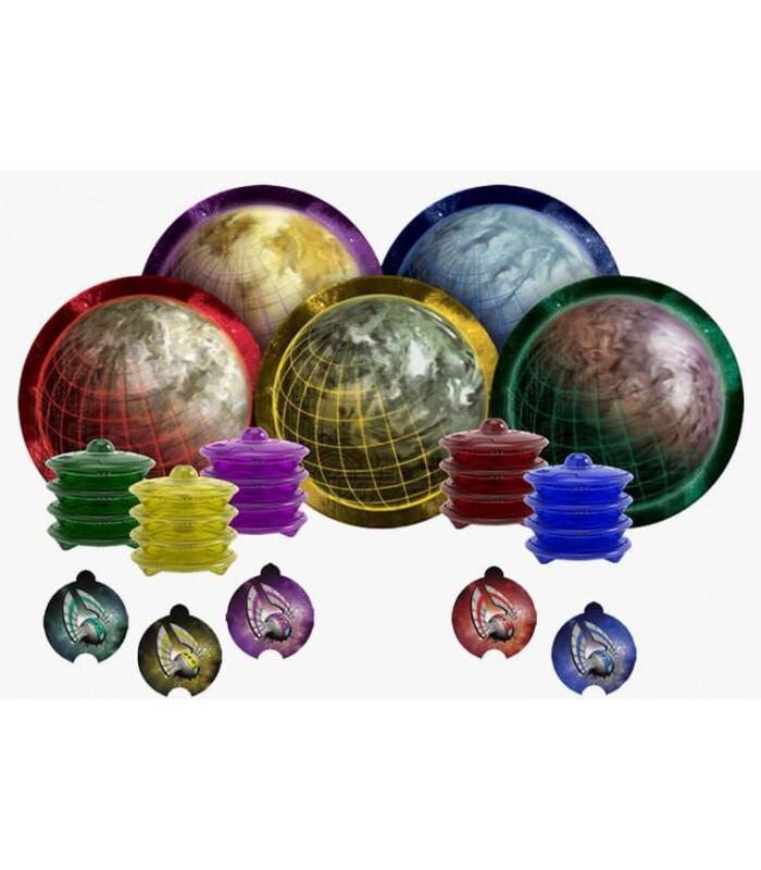 سیارههای مختلف بازی COSMIC ENCOUNTER