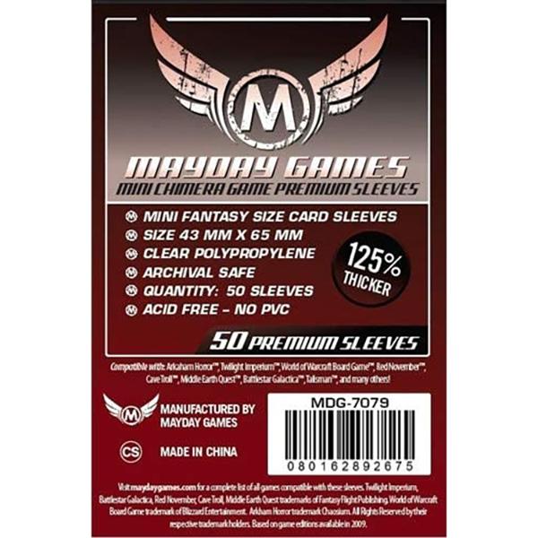 محافظ کارت Mayday Games مدل mini Chimera Game Premium Sleeves (کاور)