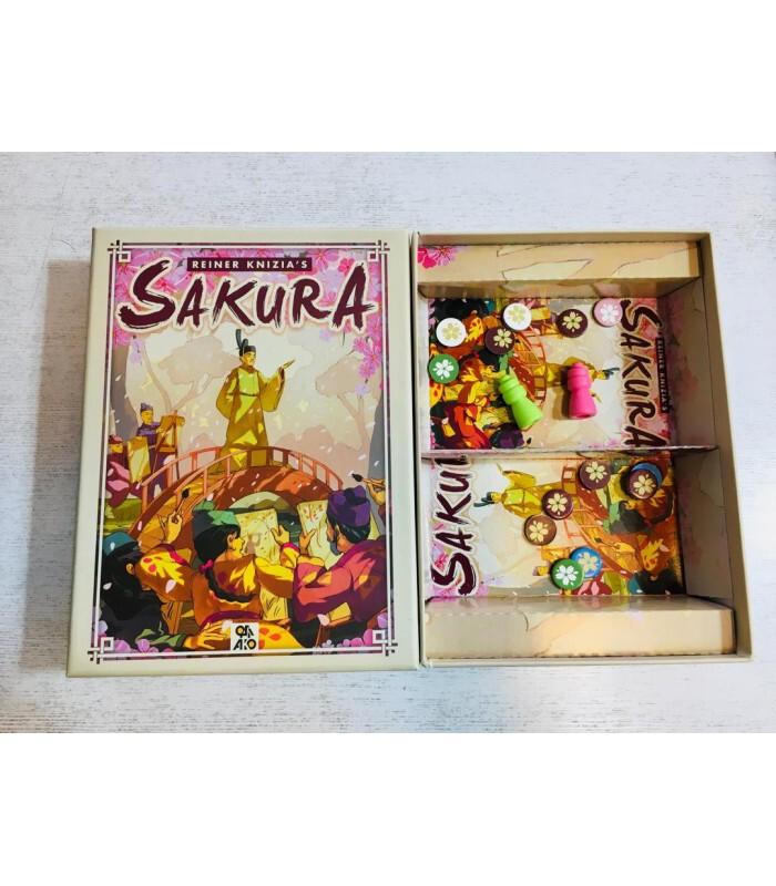 محتویات جعبه بازی SAKURA