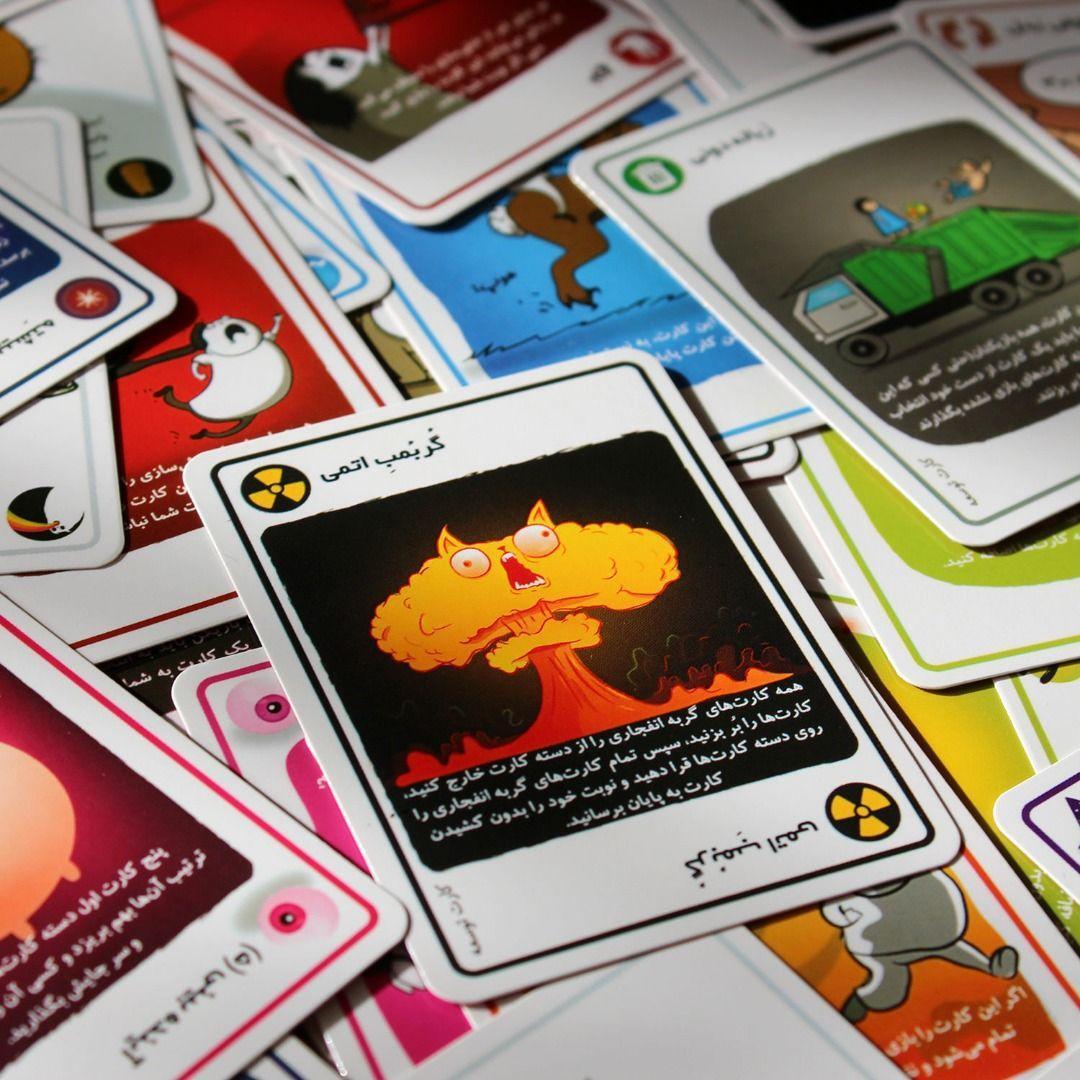 کارتهای بازی EXPLODINGS KITTENS