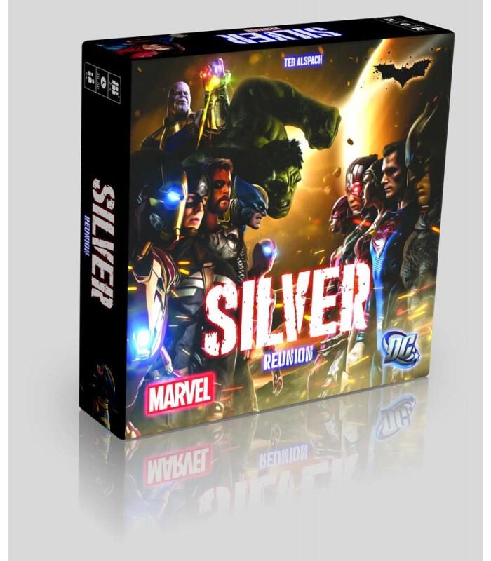 جعبه بازی Silver Marvel and DC